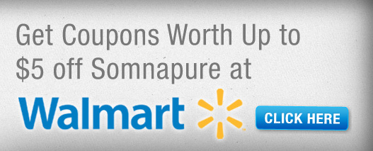 Somnapure Coupons at Walmart up to $5 Off